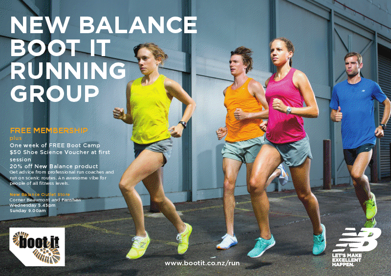 New Balance Boot It Running Group - Boot It Fitness: NZs best indoor \u0026  outdoor training